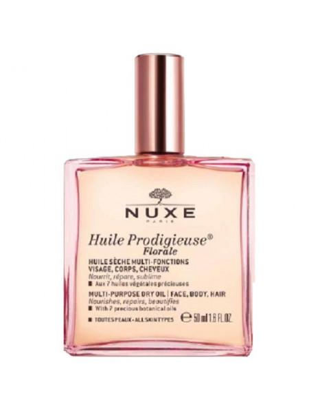 Нюкс Продижьез Масло для лица тела и волос Сухое Цветочное 50 мл Nuxe Huile Prodigieuse Florale (052901)