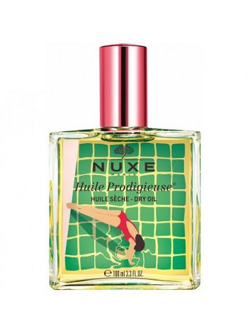 Нюкс Продижьез Масло для лица тела и волос Сухое Лимитированный выпуск 100 мл Nuxe huile Prodigieuse Limited Edition Coral (042802)