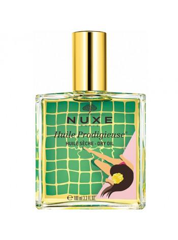 Нюкс Продижьез Масло для лица тела и волос Сухое Лимитированный выпуск 100 мл Nuxe huile Prodigieuse Limited Edition Yellow (042803)