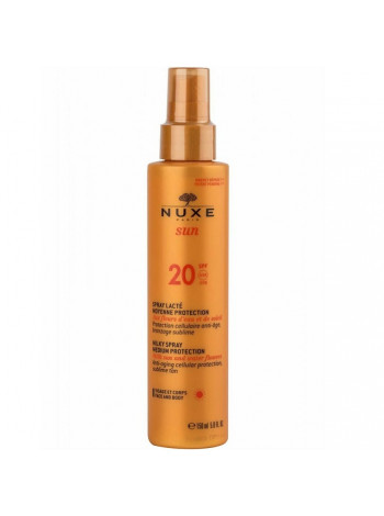 Нюкс Сан Молочко для лица и тела SPF20 150 мл Nuxe Sun Spray Lacte Noyenne Protection (01519)
