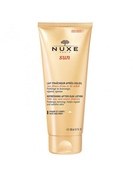 Нюкс Сан Лосьон после солнца для лица и тела освежающий восстанавливающий 200 мл Nuxe Sun