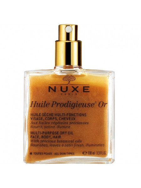 Нюкс Продижьез Масло Золотое Новая Формула 100 мл Prodigieux Nuxe