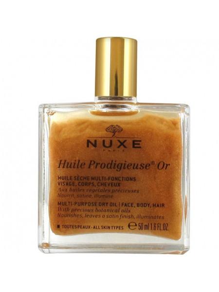Нюкс Продижьез Масло Золотое Новая Формула 50 мл Prodigieux Nuxe