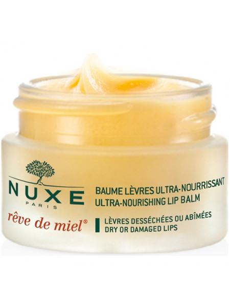 Нюкс Рэв де Мьель Бальзам для губ ультрапитательный 15 мл Reve de Miel Nuxe