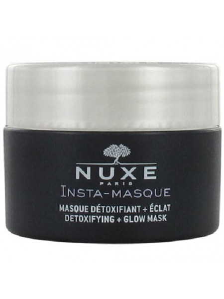 Нюкс ИнстаМаска Маска-детокс и сияние для лица 50 мл Insta-masque Nuxe Masque-detoxifiant + Eclat detoxifying + Glow Mask