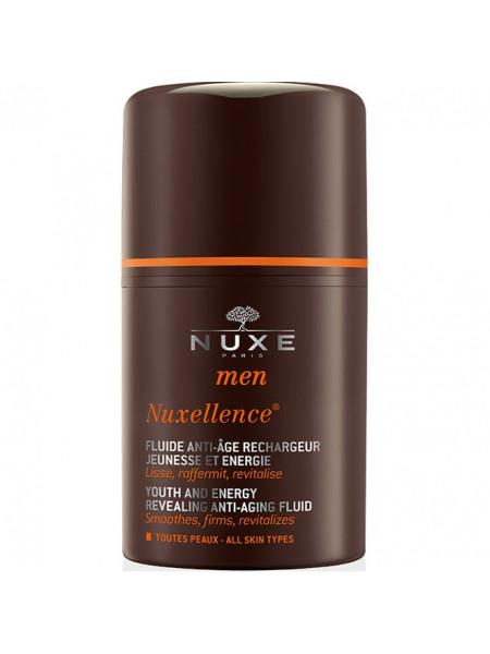 Нюкс Мен Нюксэлланс Эмульсия для лица Укрепляющая Антивозрастная Для мужчин 50 мл Nuxe Men