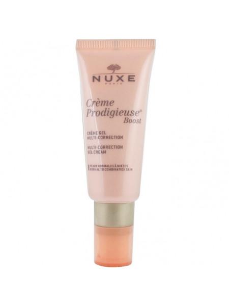 Нюкс Продижьез Буст Гель-крем для лица Мультикорректирующий 40 мл Nuxe Creme Prodigieux Boost Creme-gel Multi-correction