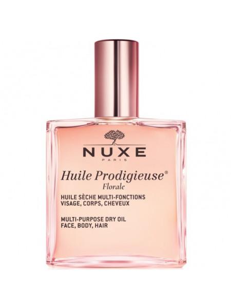 Нюкс Продижьез Масло для лица тела и волос Сухое Цветочное 100 мл Nuxe Huile Prodigieuse Florale