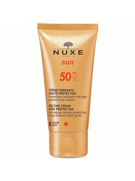 Нюкс Сан Крем для лица с высокой степенью защиты SPF50 50 мл Nuxe Sun